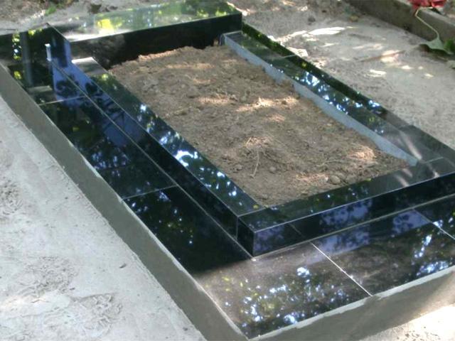 Установка надгробий своими руками 555