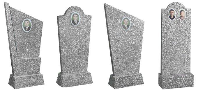 Памятники на могилу из мраморной крошки фото Лампадка из габбро-диабаза Мантурово